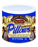 Dutch Treats Chocolate Covered Peanut Butter Pillows Made in USA 10oz. Can