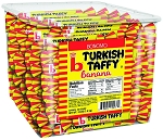 Bonomo® Long Twist Turkish Taffy® 0.25oz. Made in USA 192CT Tub