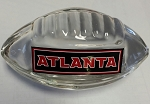 Atlanta Falcons Crystal Football Paper Weight