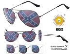 Pilot Rebel Flag Sunglasses UV400 Friends Pack of 12