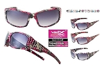 Vertx Pink Camo Mix Rhinestones Sunglasses Assorted Dozen