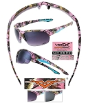 Wholesale Vertx Ladies PINK Camo Sunglasses 12CT