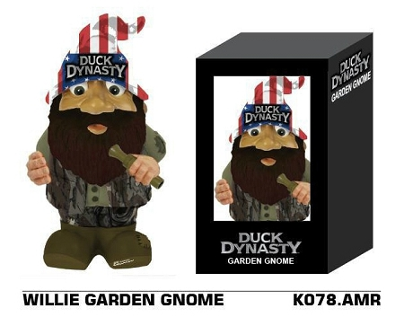 Wholesale Official A&E Licensed Duck Dynasty WILLIE Garden Gnome