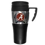 Wholesale Officially Licensed Collegiate 2 Toned Travel Mug with Handle and FLAME Logo