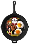 Duck Commander Cast Iron Cookware Skillet 12