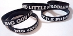 BIG GOD little problem® Silicone Bracelet - Jeremiah 32:27