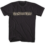Blaze your own Trail™ BLACK T-shirt