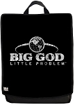 BOLDFACE™ BIG GOD little problem BOLDFACE Backpack with interchangeable Face