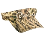 Ducks Unlimited Mossy Oak Shadow Grass Blades Camo Visor