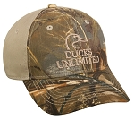 Ducks Unlimited Realtree Max-5 Khaki Cap