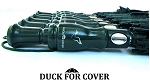 Duck For Cover™ Decorative Duck Call Handle Sports Umbrella Hunter Green