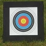 Deluxe Double Layer Backyard Archery Target
