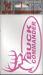 Wholesale Buck Commander Oval Decal, PINK