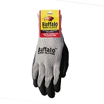 Buffalo Latex Coated Glove Size Medium