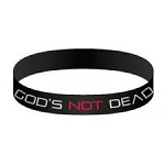 God's Not Dead Silicone Bracelet