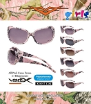 VERTX Kids - Girl's Pink Camo Sunglasses