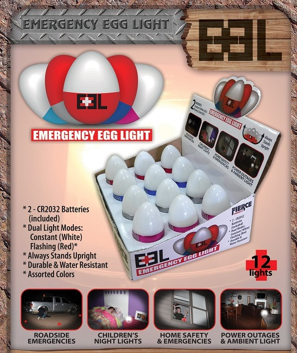 Light Stand For Egg: Wholesale Emergency Egg Light 12ct Display
