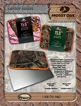 Mossy Oak Laptop Neoprene Laptop Sleeve, Pink Trim