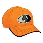 Mossy Oak Blaze Orange Embroidery Camo Cap