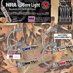 National Rifle Association Bendable Bore LED Flashlight/Laser