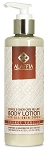 Alaffia Shea Butter & Coffee Cafe au Lait Body Lotion, Orange Vanilla, 8oz.