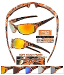 VERTX Orange CAMO Sunglasses CAMO