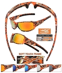 VERTX Orange CAMO Sunglasses CAMO 1/12CT