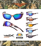 VERTX Assorted Camouflage Polarized Sunglasses 12CT