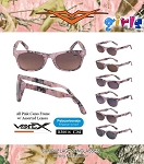 VERTX Girls Assorted Camouflage Sunglasses 12ct