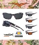 56018CM-PK-POL VERTX POLARIZED POLYCARBONATE ASSORTED PINK CAMO Sunglasses 12CT