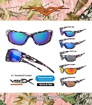 56018CM-PINK VERTX POLARIZED POLYCARBONATE ASSORTED PINK CAMO Sunglasses 12CT