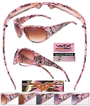 VERTX Ladies Sunglasses PINK CAMO Friends Pack of 12
