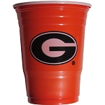 Georgia Bulldogs Plastic Game Day Cups 18oz 18CT