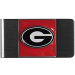 Georgia Bulldogs Steel Money Clip
