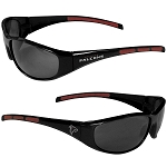 Officially Licensed Atlanta Falcons Wrap Fashion Sunglasses