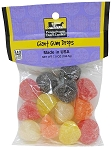 Old Fashioned GIANT GUM DROPS 7 oz. Hanging Bag