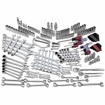 Craftsman 220-PC Ultimate Mechanics Service Set with 90T Ratchets - 144 position ratcheting wrenches