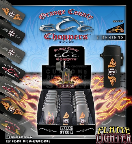 OCC Flame Lighters 18ct Display