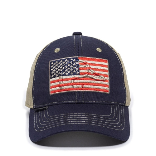 Navy/Khaki Ducks Unlimited Cap USA
