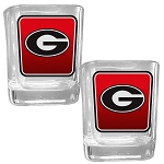 Wholesale Officially Licensed Collegiate COLLECTOR'S 2OZ. GLASS SET 1/12CT