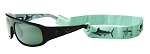 Guy Harvey SEA-FOAM GREEN SUNGLASS HOLDER