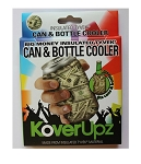 KOVERUPZ  TYVEK INSULATED CAN & BOTTLE COOLER BIG MONEY DESIGN