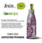 KOVERUPZ  HOBO-CHIC BAG INSULATED WINE BOTTLE COOLER DECORATIVE DESIGN