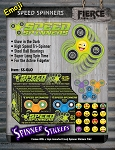 Glow in the Dark Tactile Speed Spinner Gadget w/Emoji Stickers for all ages!