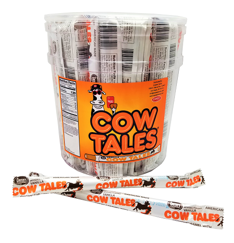 VANILLA COW TALES 72/CT Tub