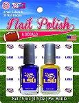 2 Pack Nail Polish + Nail Decals 12 per case