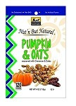 Nut'n But Natural® PUMPKIN & OATS Seasoned w/Cinnamon & Dates 4oz. Bag
