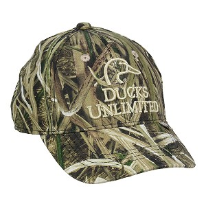 Ducks Unlimited Mossy Oak Shadow Grass Blades Camo Cap