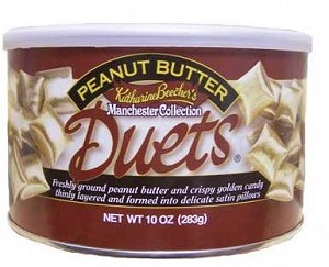 Peanut Butter Duets (Katherine Beecher Manchester Collection) Made in USA 10oz. Can