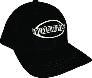 Blaze your own Trail  Made in USA BLACK Cap